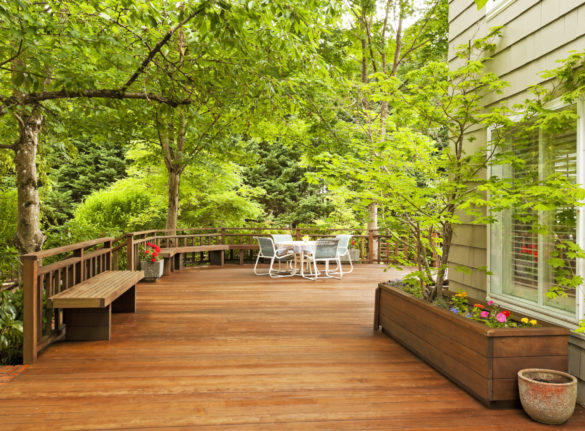Skyeco Group - image of a large deck around a home