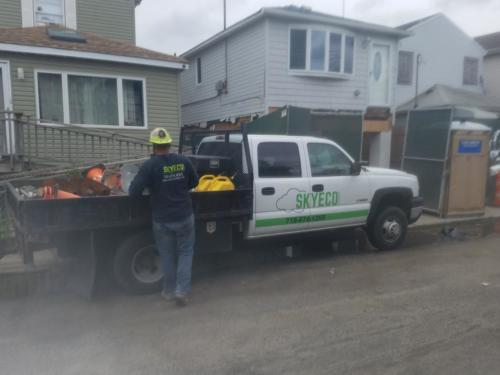 worker with truck image