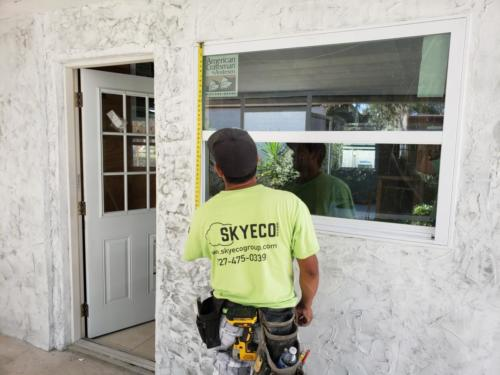 Skyeco replacing windows